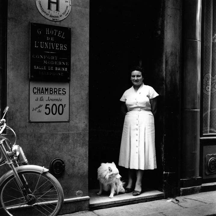 Paris 1954-1959. photo: Kees Scherer
