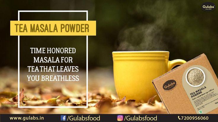 #TeaMasala  that will leave you Breathless !!  #Gulabs #gulabsmasala #Tea #masala #drink