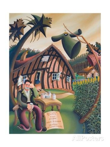 Bird Scarers in Landes, 1995 Giclee Print by Victoria Webster - AllPosters.co.uk
