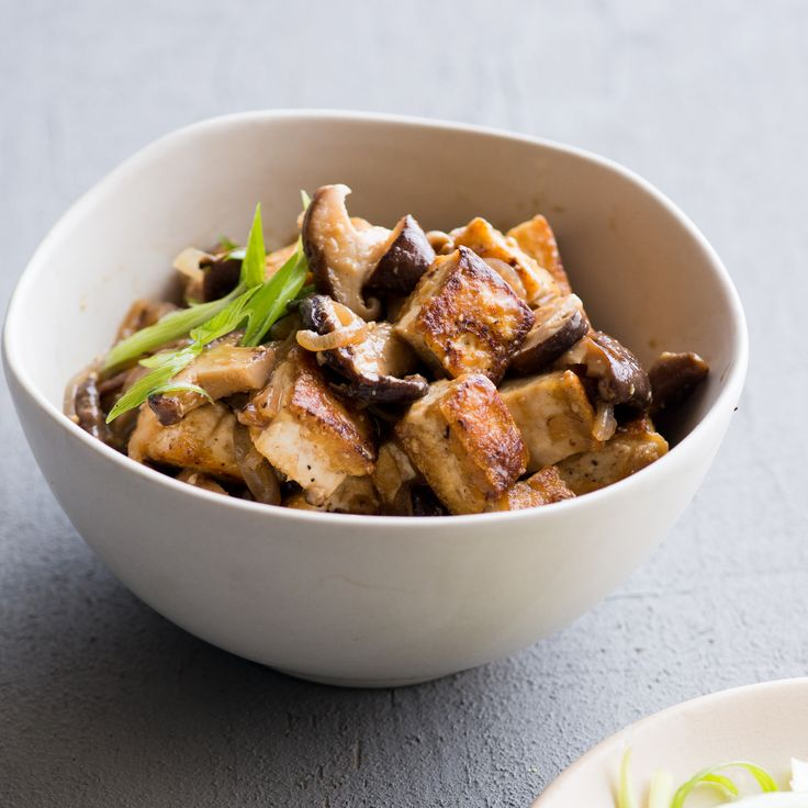 Miso and Shiitake Mushroom Tofu | Food & Wine