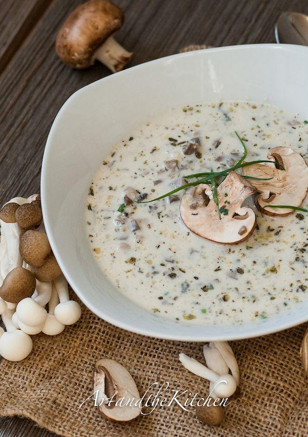 (Canada) Homemade Mushroom Soup a truly exceptional recipe for mushroom soup! artandthekitchen.com