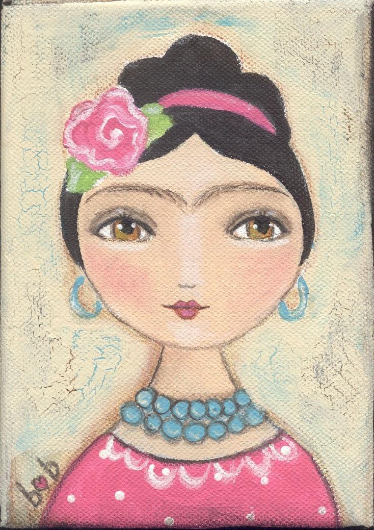 Frida Kahlo Art