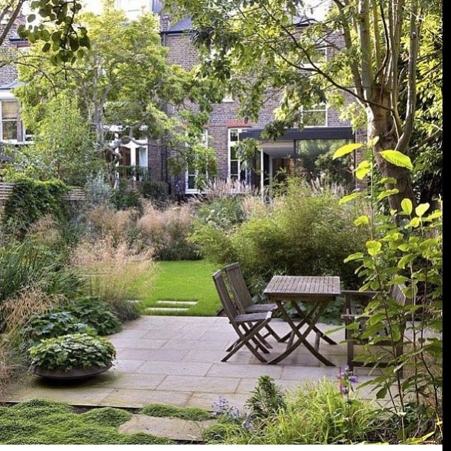 Here The Homeowner Has Created A Stunning Effect With Green On Green Smallmagicalgardens Smallgarden Gardendesign