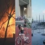 WATCH: Swells, wind and fire - extreme weather batters Cape Town and Durban  Emergency shelters had been made available to the 15 000 people affected by the fire, which destroyed 3 500 homes. On Sunday the 40th installment of the Cape Town Cycle Tour was cancelled due to extreme wind. Meanwhile, mini 'tsunamis' crashed into ... #CapeTownCycleTour
