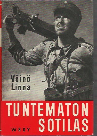 Kirja / Book Tuntematon sotilas (kansanpainos), WSOY 1956