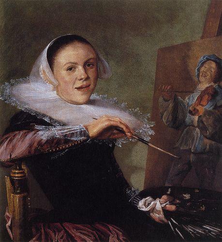 Mujer pintando, Flickr – Galería de alohrenz (CC BY 2.0)