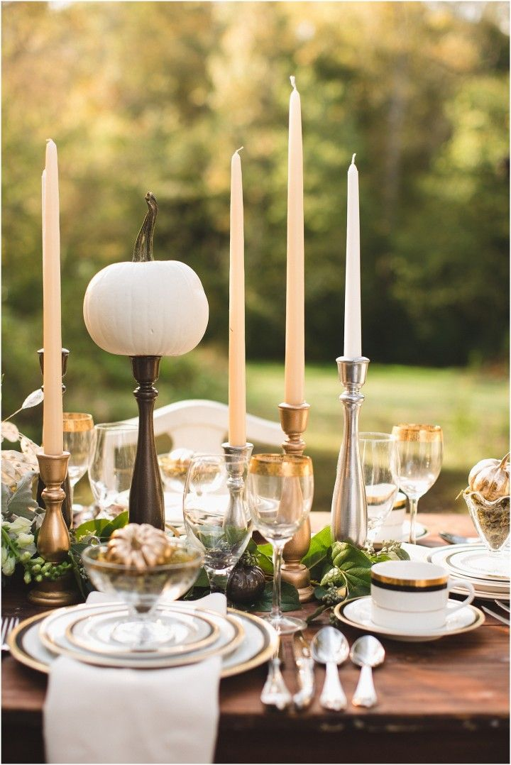 15 best Thanksgiving Table Setting Ideas images on Pinterest ...