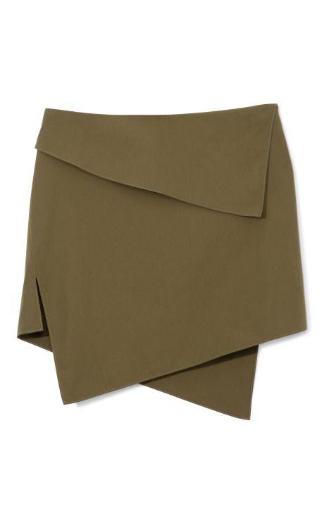 Shop Silver Skirt by Felipe Oliveira Baptista Now Available on Moda Operandi