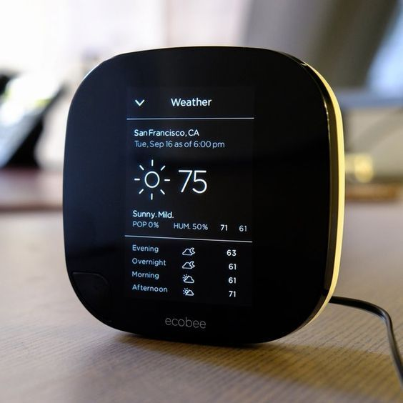 Ecobee3 Smart WiFi Thermostat: