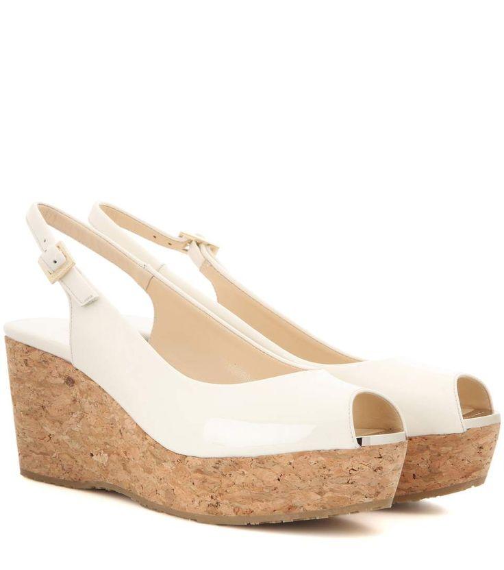 mytheresa.com - Sandali Praise in vernice con zeppa - Luxury Fashion for Women / Designer clothing, shoes, bags