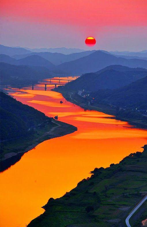 Cheongbyeok Bridge, Korea:
