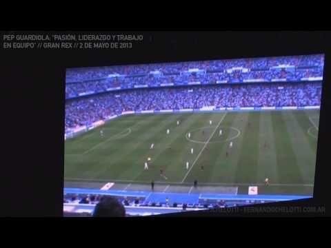 Pep Guardiola en Argentina [Visión Táctica] Conferencia Lideres Positivos