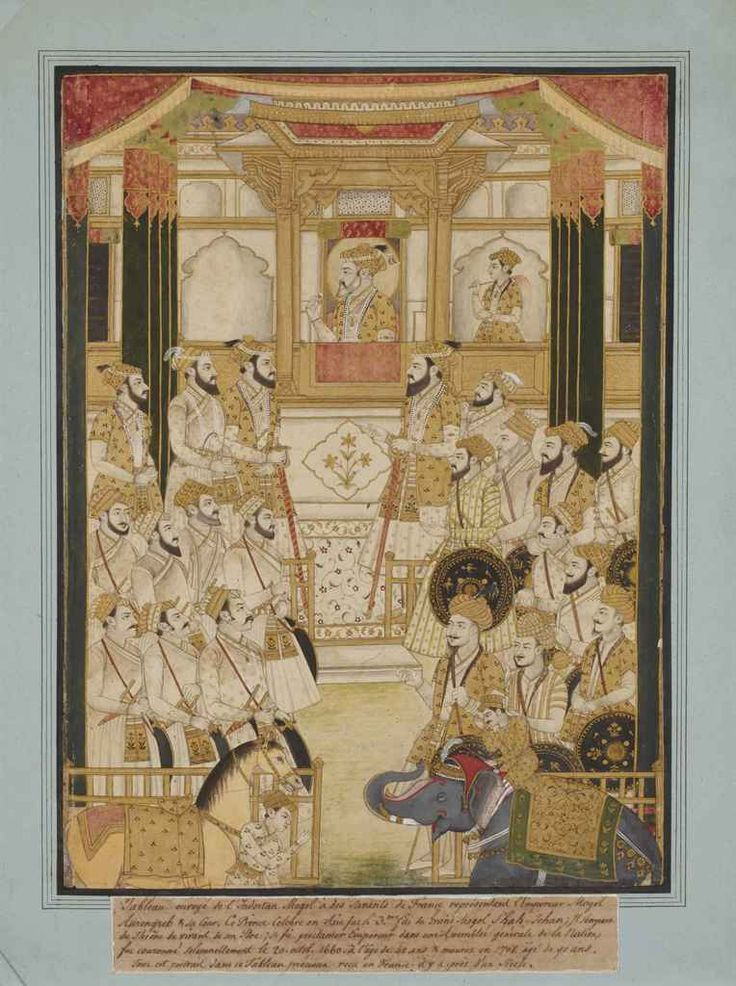 durbar_of_the_mughal_emperor_aurangzeb_deccan_central_india_late_17th_d5603965g.jpg (764×1024)