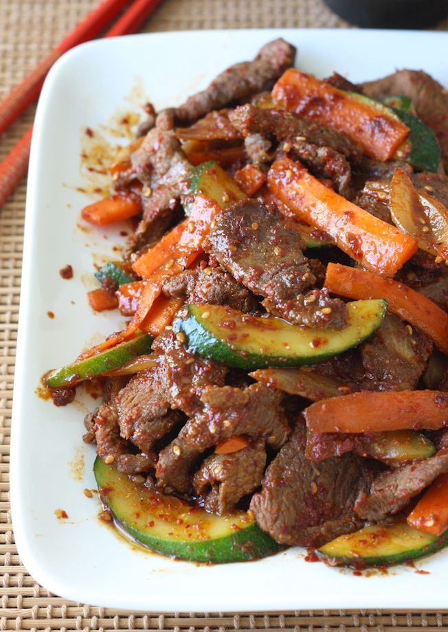 Easy Korean Beef Stir-Fry with Vegetables (with our Korean BBQ Blend ...