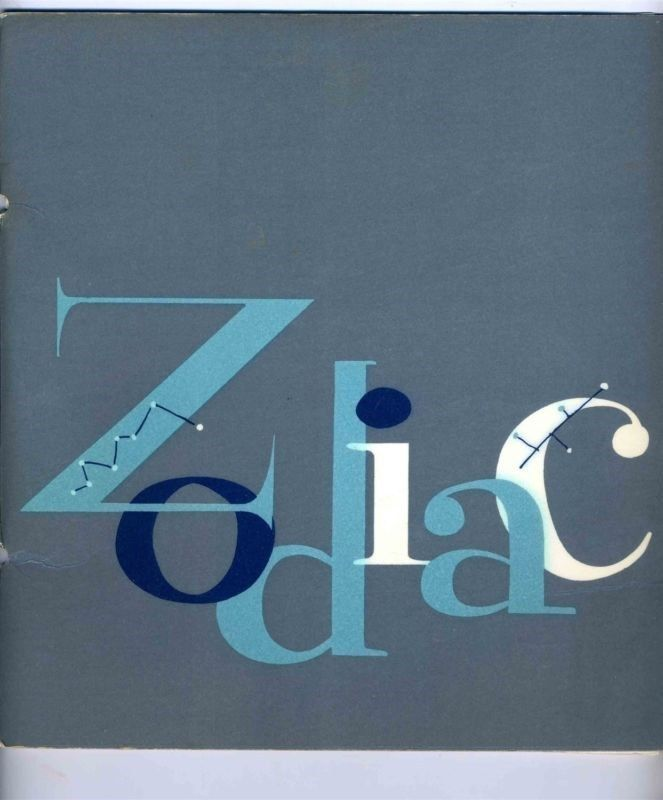 Zodiac Room Restaurant Luncheon Menu Neiman Marcus 1960's  Dallas Texas  | eBay