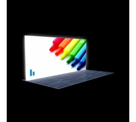 Put away the old school/dated trade show display, and step up and compete. Led Light BoxTrade ...
