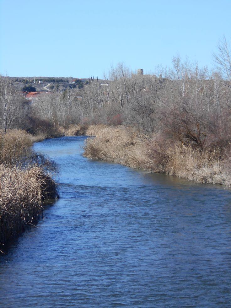 Rio Tajo, aguas abajo de Fuentidueña