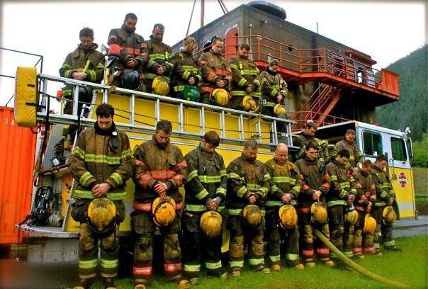 With respect ... North Bend Fire Training Academy by Liz Jackson