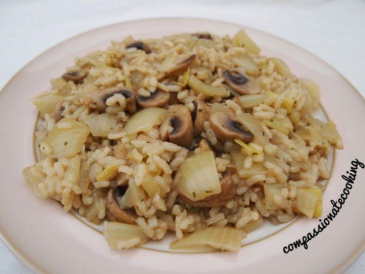Compassionate Cooking: #Vegan Mushroom #Risotto