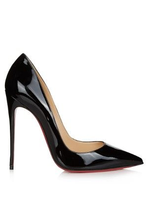 Christian Louboutin's black patent-leather So Kate pumps are named in  honour of their most loyal fan, Kate Moss.