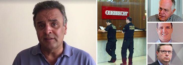 Aécio diz que tinha obrigação de pedir dinheiro à Odebrecht  Abatido pelas delações da Odebrecht, o senador Aécio Neves (PSDB-MG), que liderou o golpe parlamentar de 2016, postou um vídeo nas redes sociais, em que diz que, como dirigente partidário, tinha obrigação de pedir dinheiro para seus candidatos, como se seu partido não tivesse tesoureiro; de acordo com a delação de Benedicto Júnior, número dois da empreiteira, Aécio pediu R$ 9 milhões, que saíram do caixa dois da empreiteira; os…