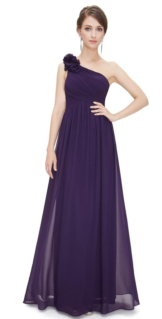 112 best Purple/Aubergine Bridesmaid Dresses images on Pinterest ...