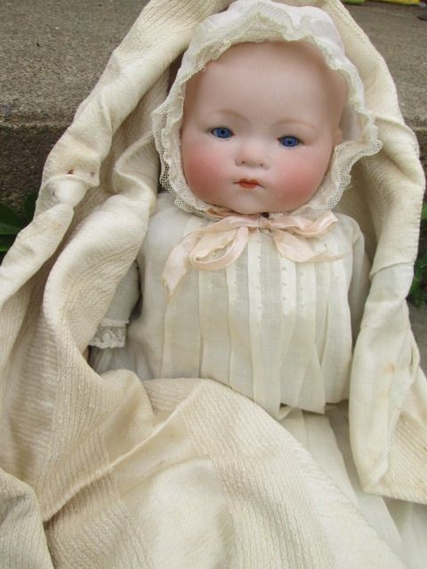Large Antique German Bisque Doll Armand Marseille Dream Baby Phyllis