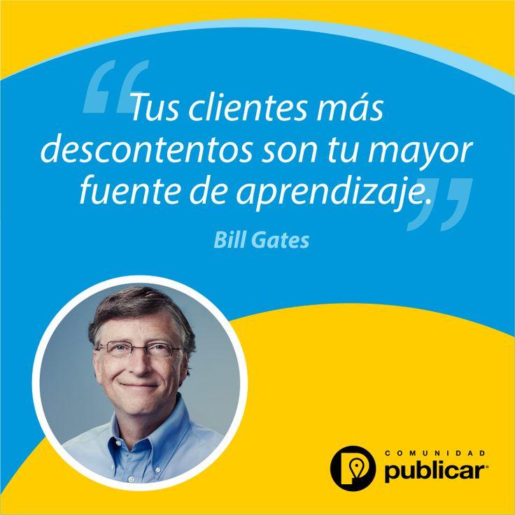#FraseDelDía El reto: conquistar al cliente descontento.