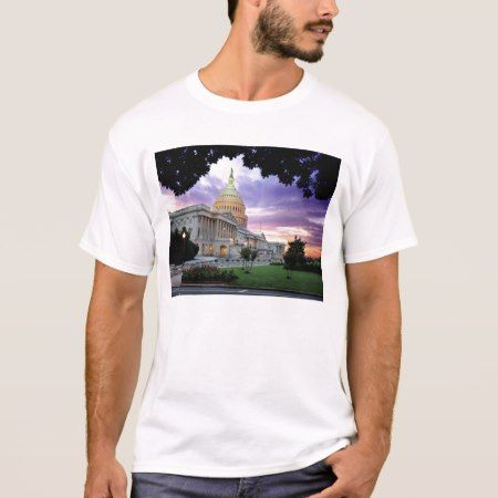 The United States Capitol T-Shirt - tap, personalize, buy right now!
