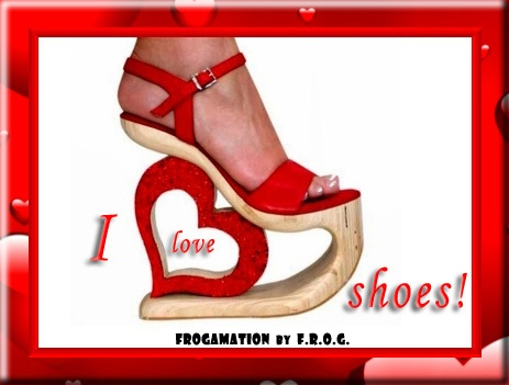 ...for the love of shoes...