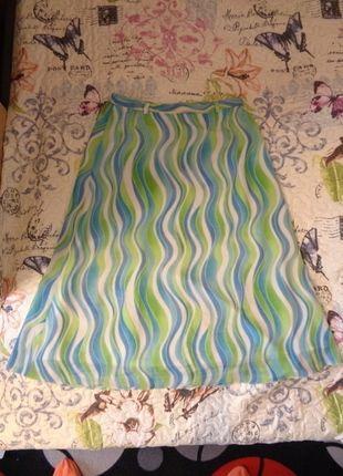 Kupuj mé předměty na #vinted http://www.vinted.cz/damske-obleceni/dlouhe-sukne/12500402-krasna-delsi-modro-bilo-zelena-sukne