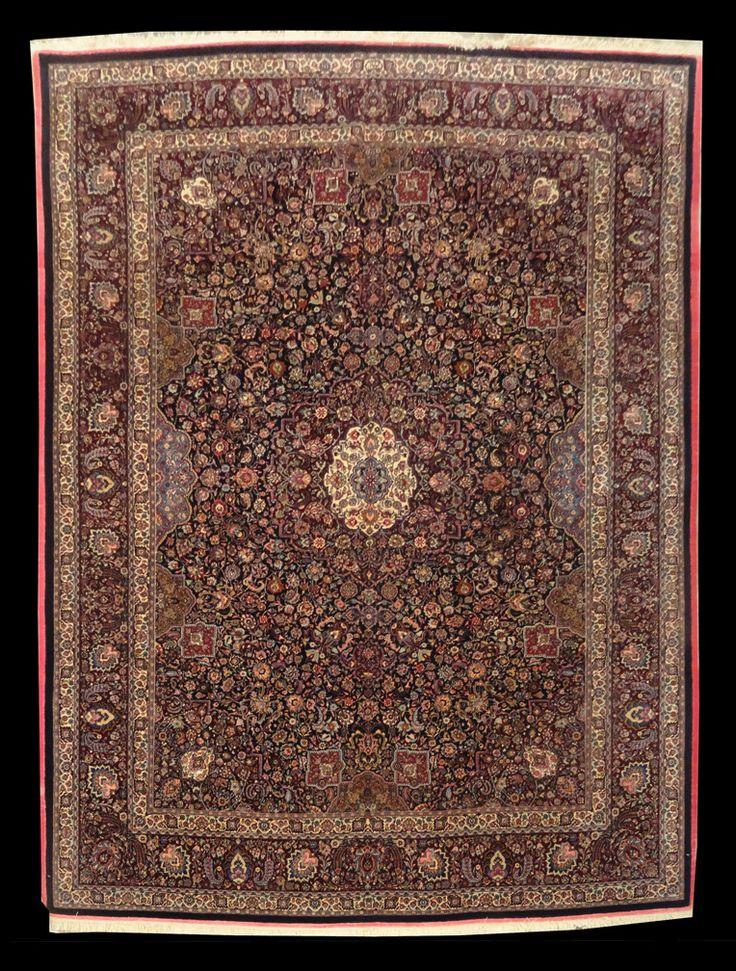 Woodlands Oriental Rug Gallery Persian Mashad Masterpiece