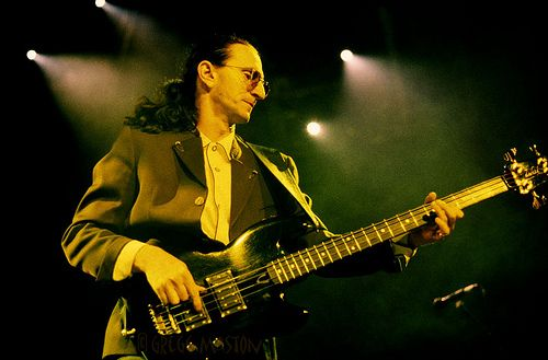 Geddy Lee Wal Bass
