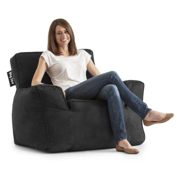 Comfort Research Big Joe Suite Bean Bag Lounger Upholstery Chocolate