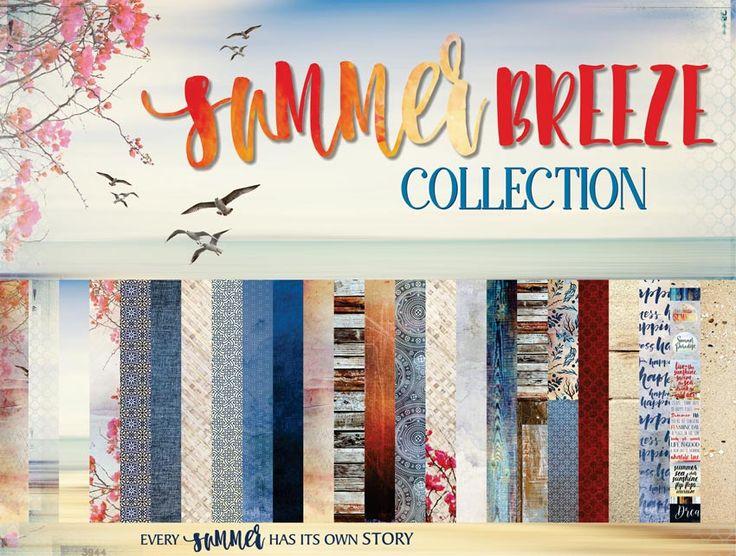 SUMMER BREEZE, is everything you need to capture your summer memories. Calm, breezy hues of blues, sun-kissed corals and sandy neutrals paired with summer quotes are perfect to document your summer stories!