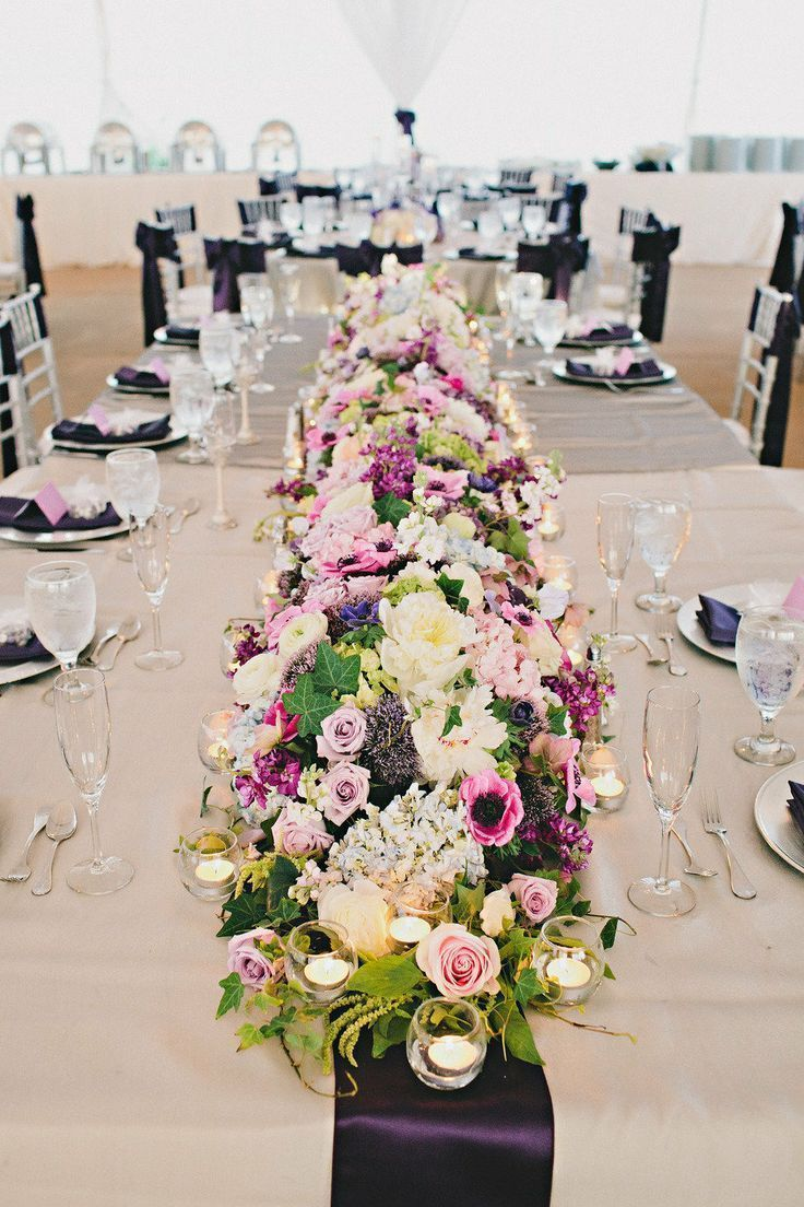 Best floral table runners images on pinterest flower