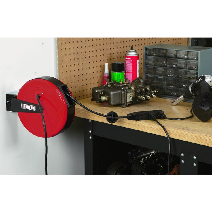 Professional Fluorescent Retractable Reel Garage Shop Work: 309 Best Images About Tool I Want On Pinterest