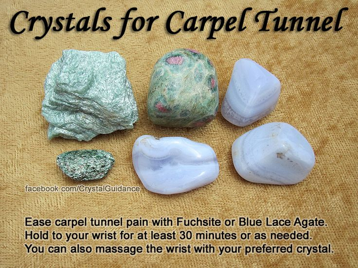 Crystal Guidance: Crystal Tips and Prescriptions - Carpel Tunnel