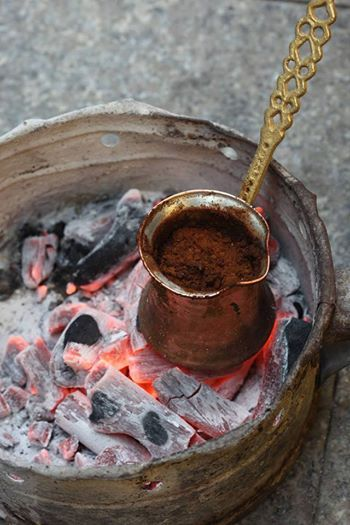 Turkish coffee best cooking style