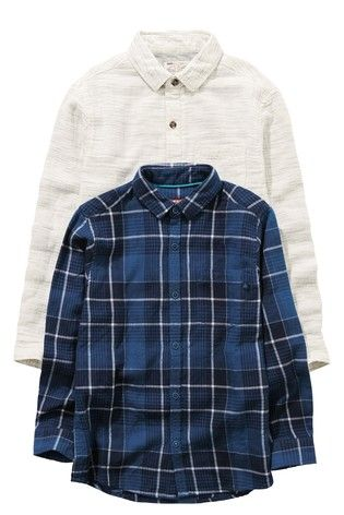 761fb425ae Ecru Jersey Lined Shirt (3-16yrs)
