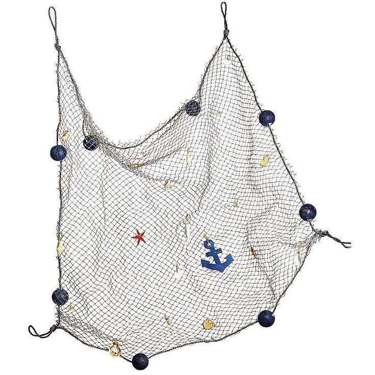 die besten 17 ideen zu fischernetz deko auf pinterest. Black Bedroom Furniture Sets. Home Design Ideas