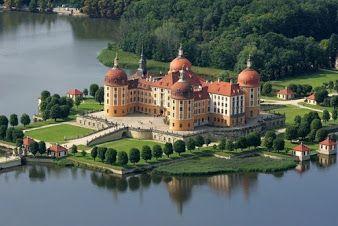 Castle Moritzburg, Germany..