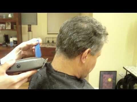 Mens Clipper Cut: Clipper Over Comb: Hair Tutorial