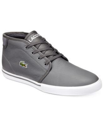 LACOSTE Lacoste Men'S Ampthill High-Top Sneakers. #lacoste #shoes # all men