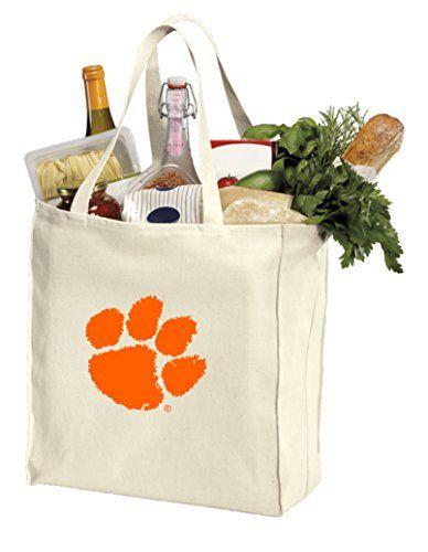 Clemson Tigers Shopping Bag