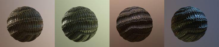 ArtStation - Tileable Texture - Alien Structure 02, Oliver Schümann