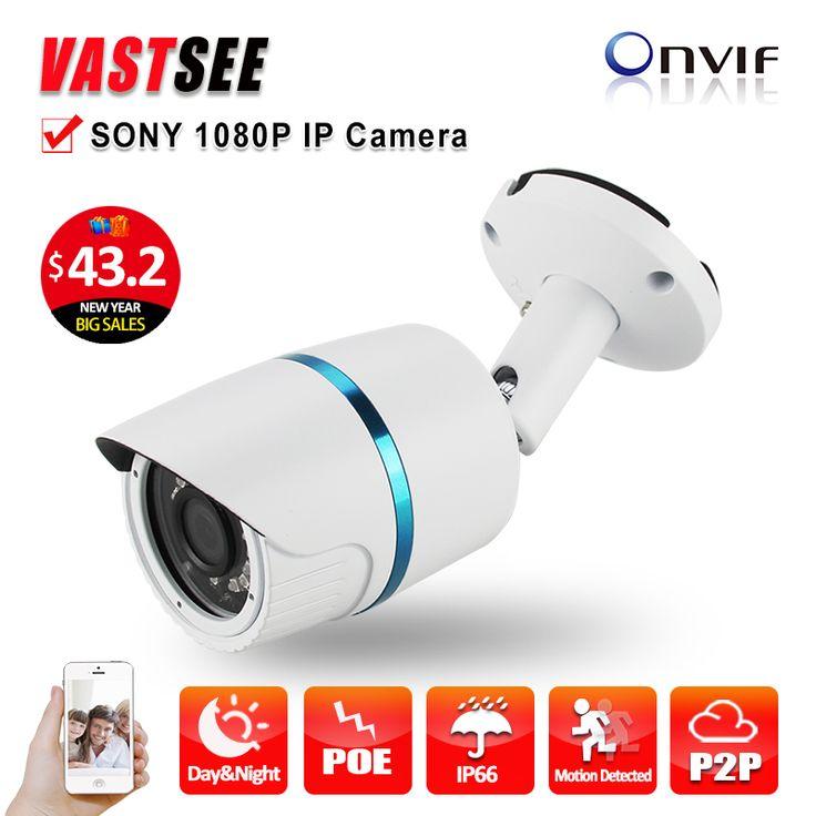 POE 1080P IP camera full hd sony IMX323 Sensor outdoor ONVIF2.4 2.8mm lens option Fixed Bullet Night Vision camaras de seguridad #CLICK! #clothing, #shoes, #jewelry, #women, #men, #hats