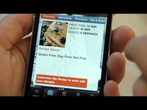 80 best food allergy apps images on pinterest food allergies cook it allergy free iphone app trailer forumfinder Gallery