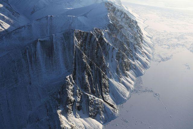 Fotos: Sobrevoando o Canadá e a Groenlândia com a NASA