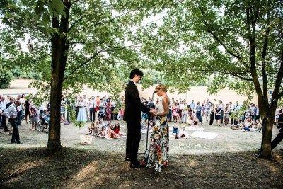 Polgári esküvő: Fogadalmak (fotó: Stiller Ákos)